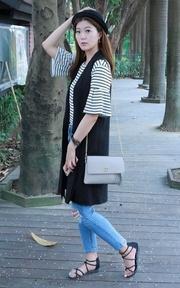 東京企劃 小方包的時尚穿搭