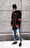 FAITH KOREA 針織外套的時尚穿搭