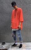 FAITH KOREA 七分袖T恤的時尚穿搭