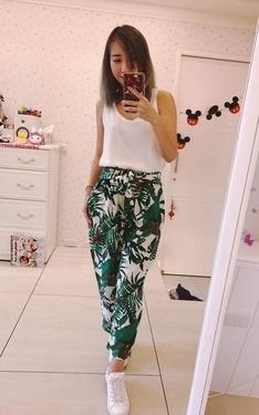 時尚穿搭:熱帶島嶼AB褲