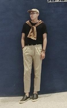 時尚穿搭:劇場男孩