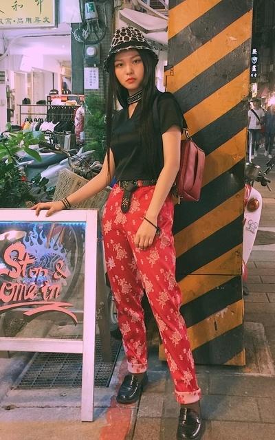 適合日本街頭、日系混搭、街頭混搭、古著、歐美時尚的穿搭
