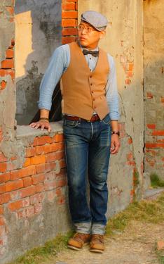 時尚穿搭:復古紳士廢墟