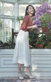 MEIER.Q 白色長裙的時尚穿搭