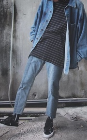 FAITH KOREA 牛仔褲的時尚穿搭