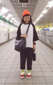 我在捷運站