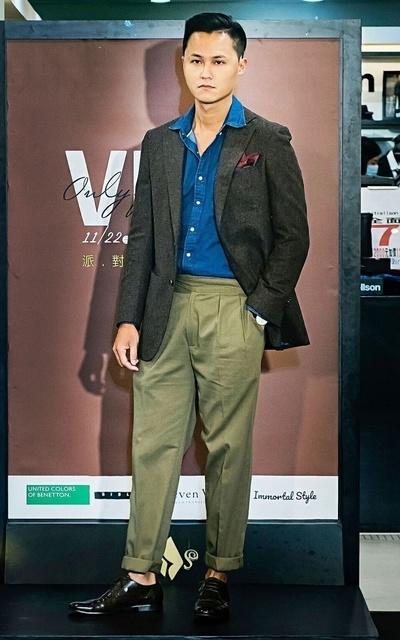 適合紳士、正裝、義式紳士、休閒正式混搭、丹寧的穿搭
