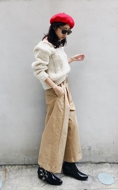 時尚穿搭:Knitwear looks