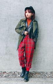 H&M 皮衣的時尚穿搭