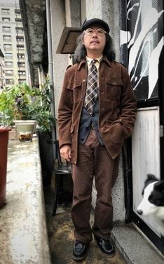 時尚穿搭:日常、大叔無聊看下雨