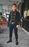 無品牌 拿破崙外套的時尚穿搭