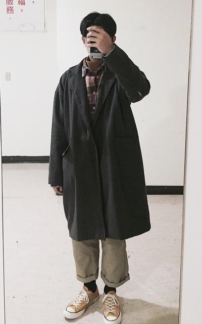 適合工裝、古著混搭、GU、日系混搭的穿搭