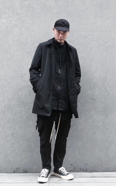 時尚穿搭:Triple black