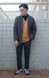 陽台工作室 雙排扣西裝外套的時尚穿搭