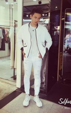 時尚穿搭:全身白