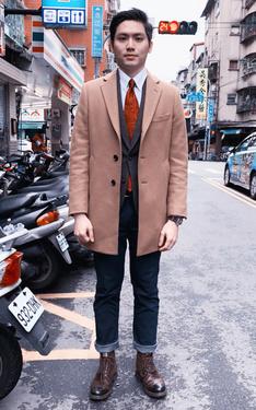 時尚穿搭:輕搖滾紳士風