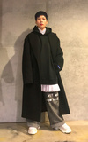 ADER ERROR OVERSIZED COAT的時尚穿搭