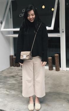 時尚穿搭:暖冬文青
