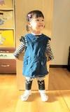 時尚穿搭:藍色背心裙