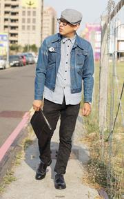 WRANGLER 牛仔外套的時尚穿搭