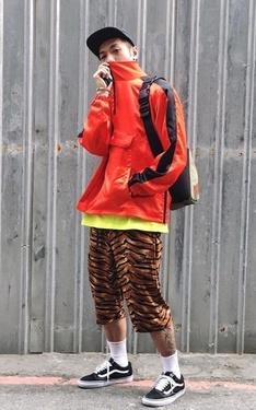 時尚穿搭:虎紋