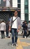 時尚穿搭:終於來到江南當歐爸。 #江南 #韓國 #Korea #Gangnam #강남 #dappei