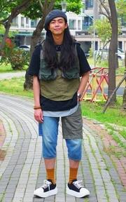TOKYO BOPPER 厚底鞋的穿搭