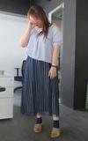 時尚穿搭:全身藍的時候