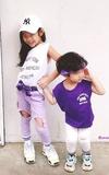 時尚穿搭:紫外光姊弟裝
