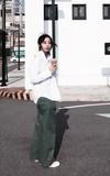 UNIQLO 純白襯衫的時尚穿搭