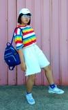 時尚穿搭:彩虹鯊魚