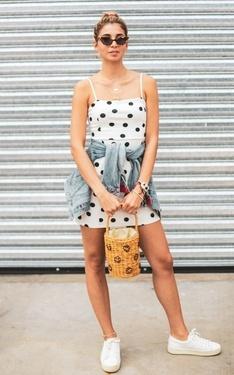 時尚穿搭:Polka Dots
