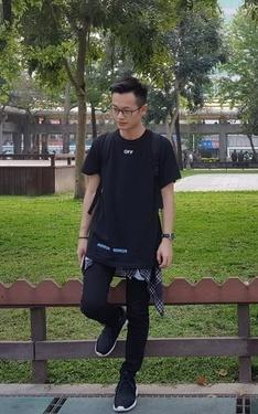 時尚穿搭:Black&etihW
