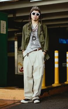 時尚穿搭:日系街頭-秋裝