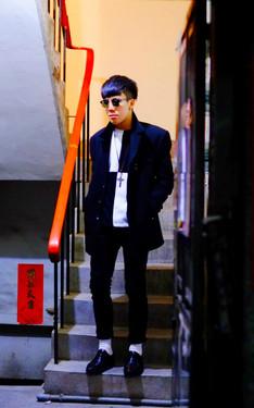 時尚穿搭:人生很黑白