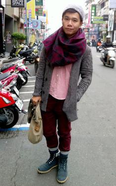 時尚穿搭:冬天毛質感