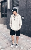 MADNESS MADNESS ANORAK PULLOVER PARKA的時尚穿搭