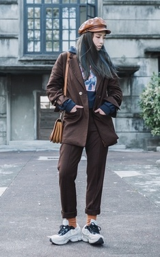 時尚穿搭:Casual Suit Look