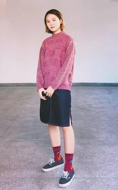 時尚穿搭:粉粉的日子