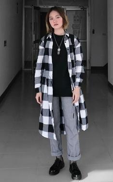 時尚穿搭:黑白之間