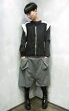 無品牌 大寬褲的時尚穿搭