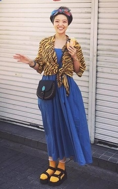 時尚穿搭:秋老虎