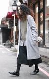 UNIQLO 羊毛長外套的時尚穿搭