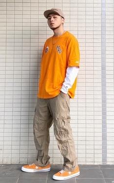 時尚穿搭:今年橘色當道吧