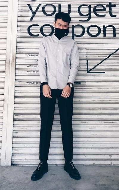 適合襯衫、厚底鞋必備、厚底鞋、FUKUROU LIVING的穿搭