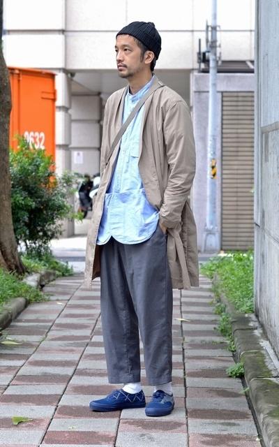 適合PLAIN-ME、 錐形打摺九分褲的穿搭