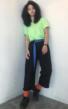 時尚穿搭:跳色日