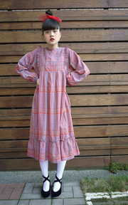 pinku vintage dress