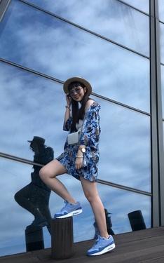 時尚穿搭:air in blue