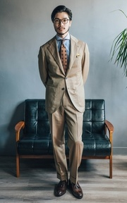 TAKEO KIKUCHI 領帶的穿搭